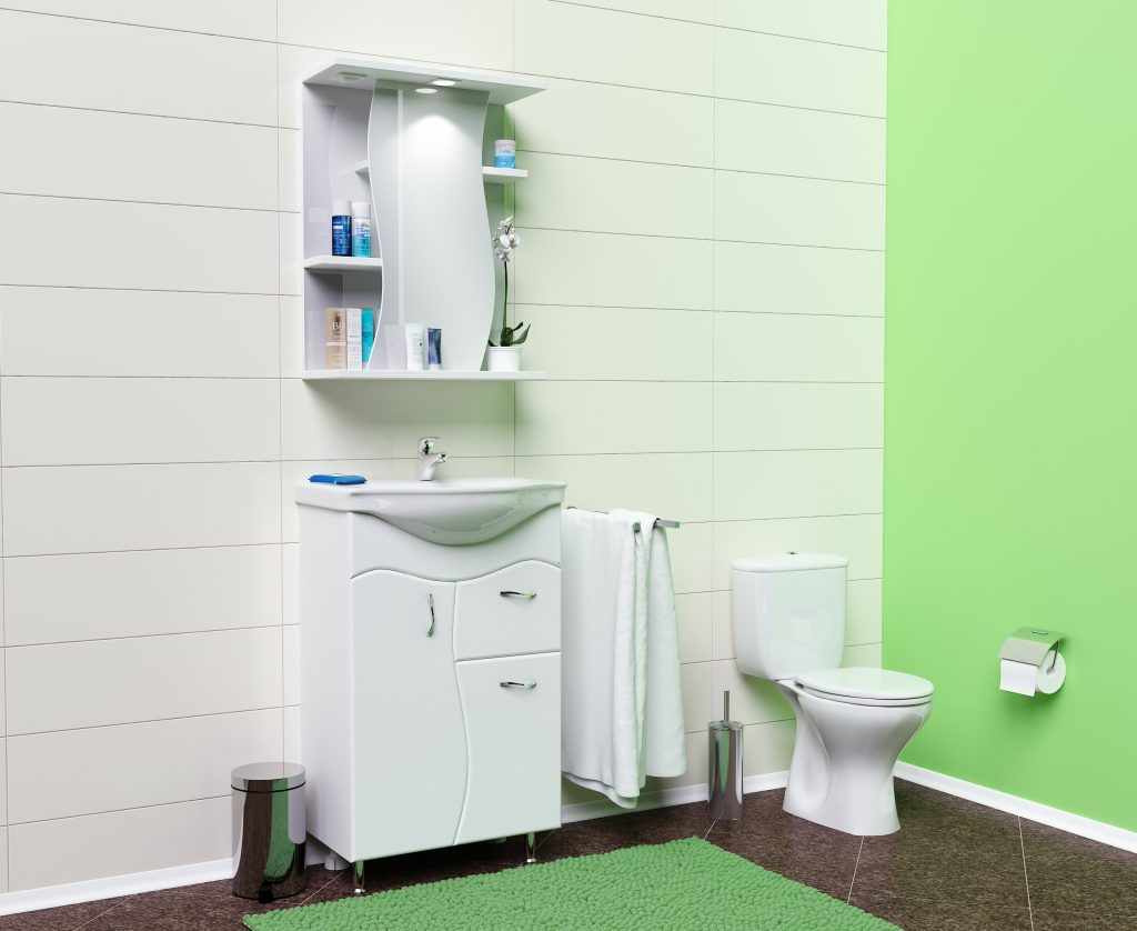 Комплект Альфа, Milano, Мебель для ванных комнат