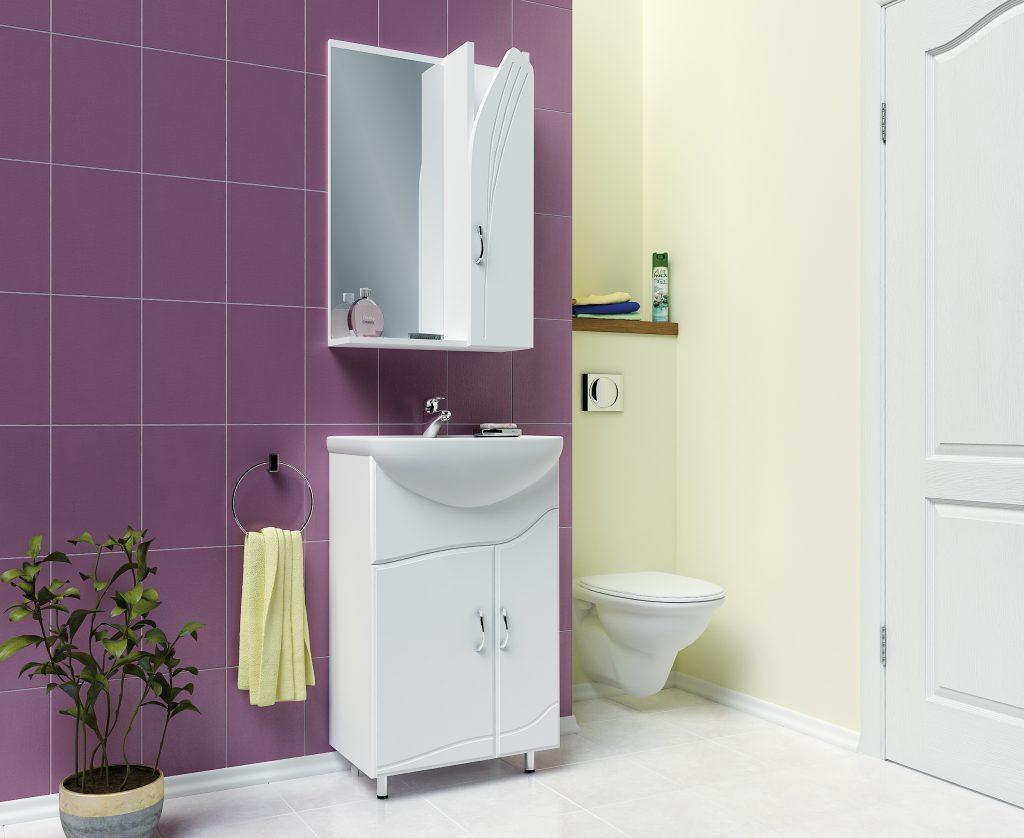 Комплект Виола, Milano, Мебель для ванных комнат