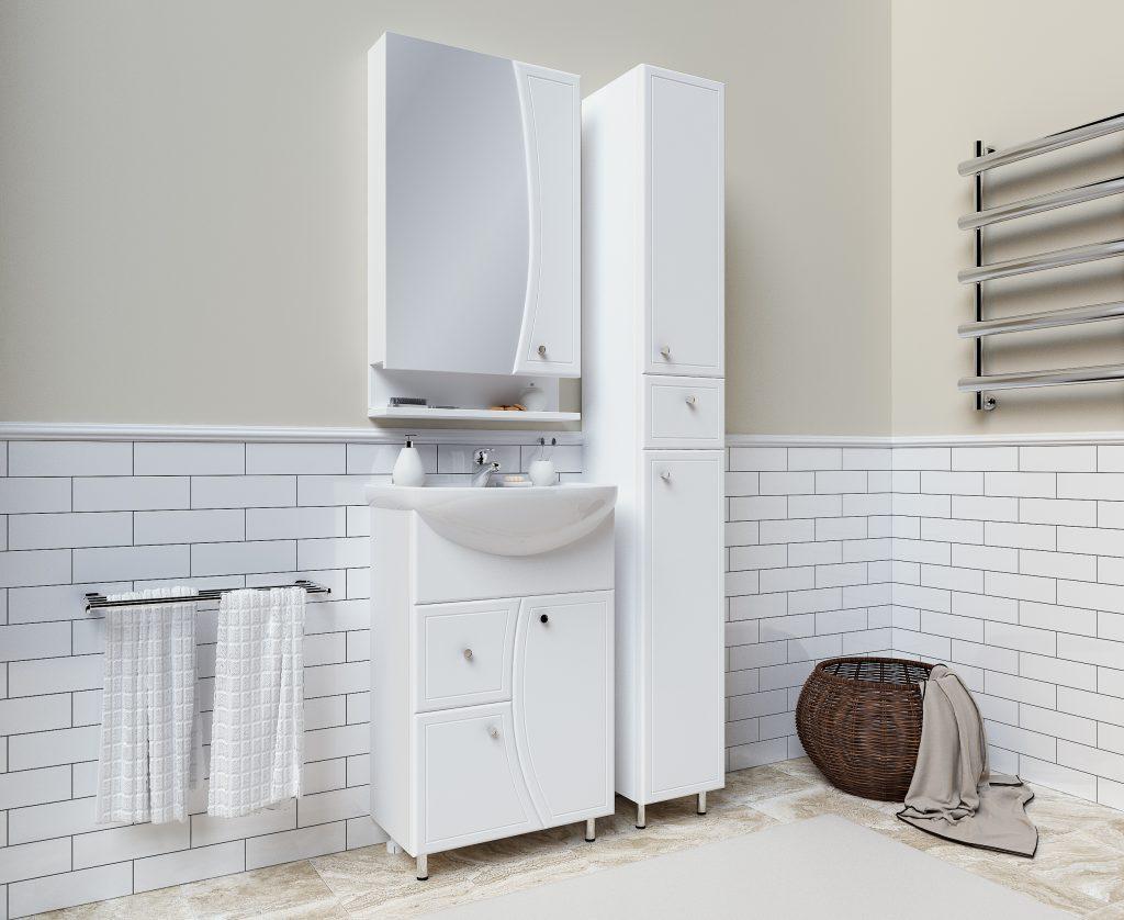 Комплект Кармель, Milano, Мебель для ванных комнат