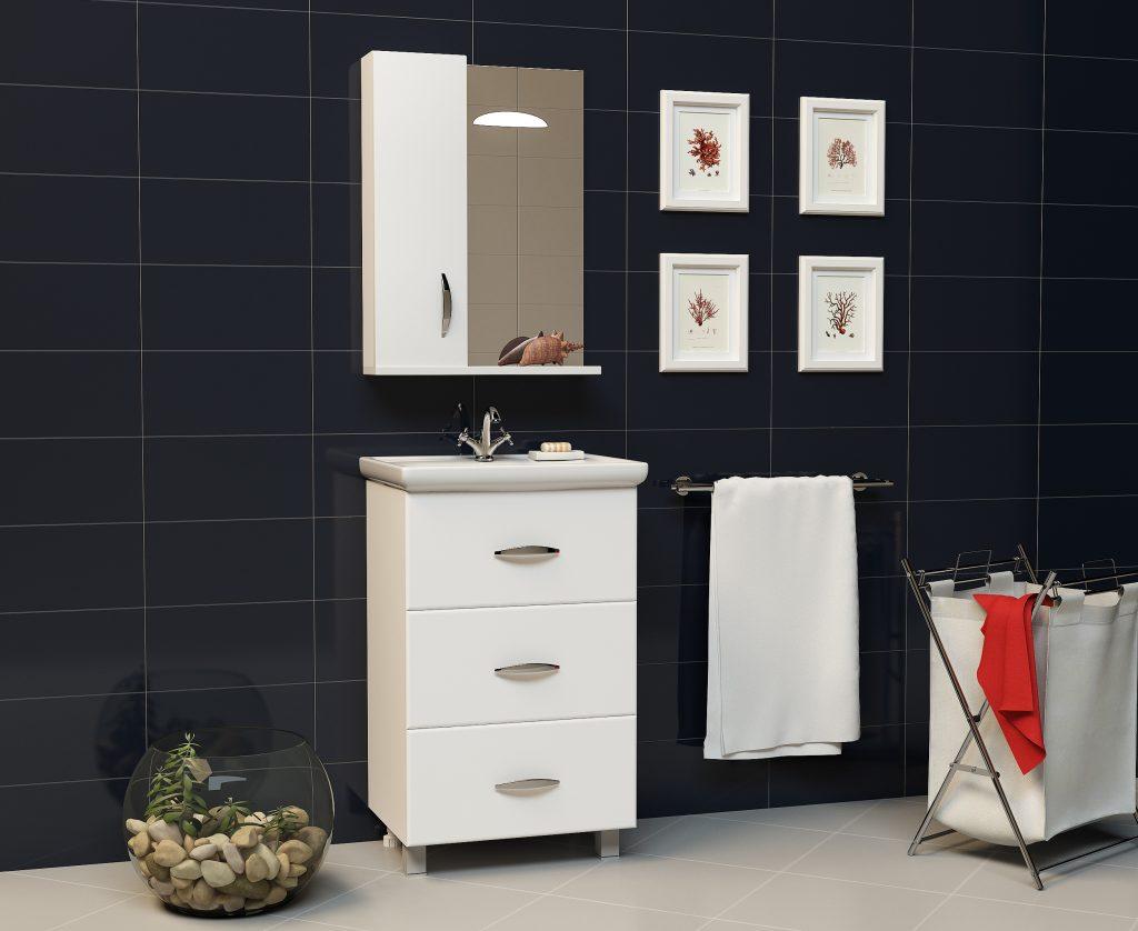 Комплект Орион, Milano, Мебель для ванных комнат