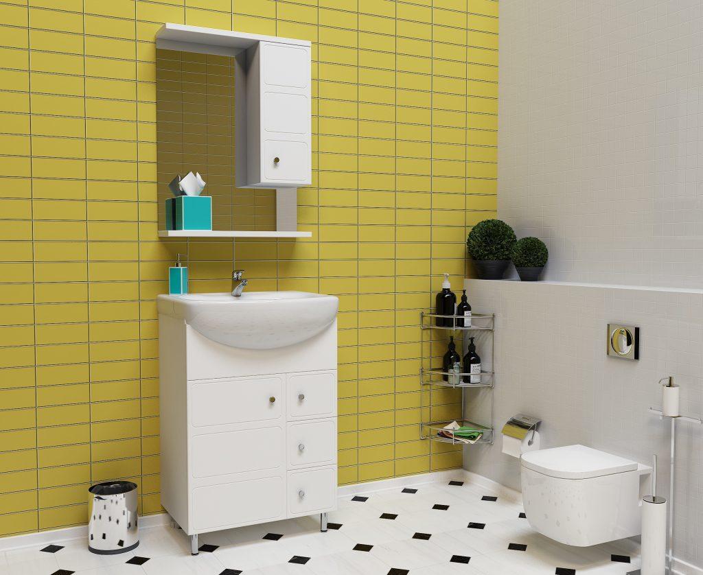 Комплект Премьер, Milano, Мебель для ванных комнат