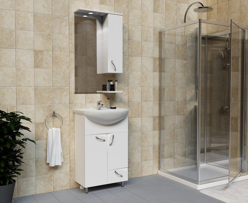 Комплект Стрит, Milano, Мебель для ванных комнат