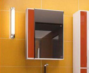 Зеркало-шкаф Жасмин 60