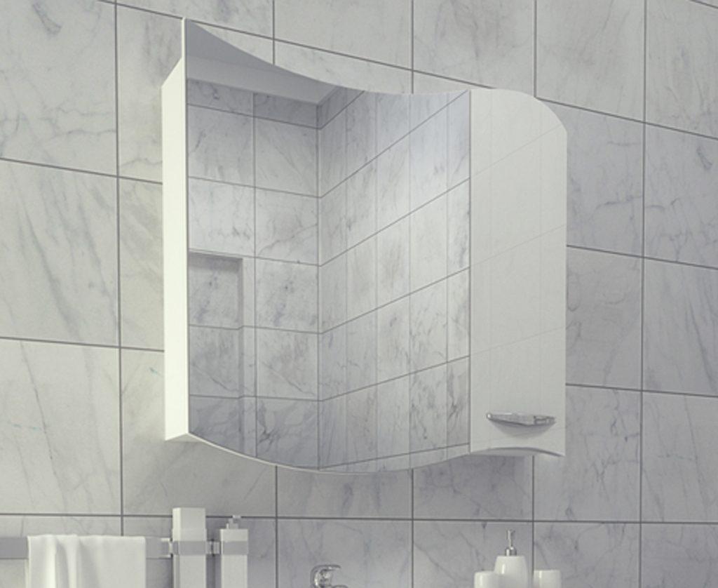 Зеркало-шкаф Коралл 80